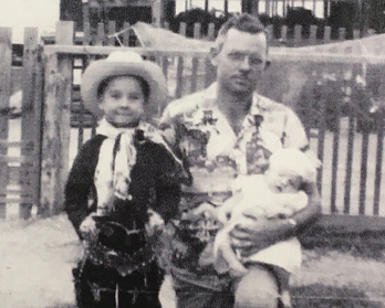 A.E. Ivy and his two sons, Jim and Vic