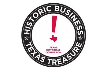 Historic Business Texas Treasure Logo