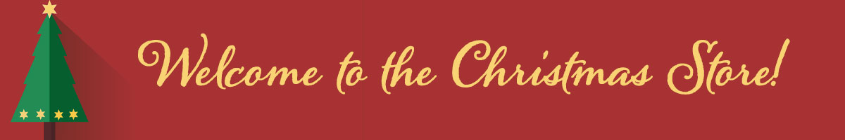 Header for the top of the Christmas Store Slider banner